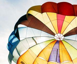 parachute open