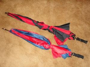 We have two similar umbrellas