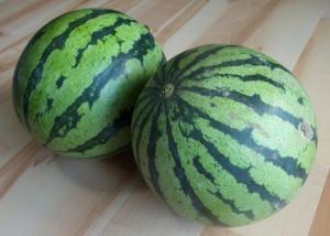 Watermelon arrived uncut