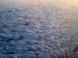 A blanket of cloud