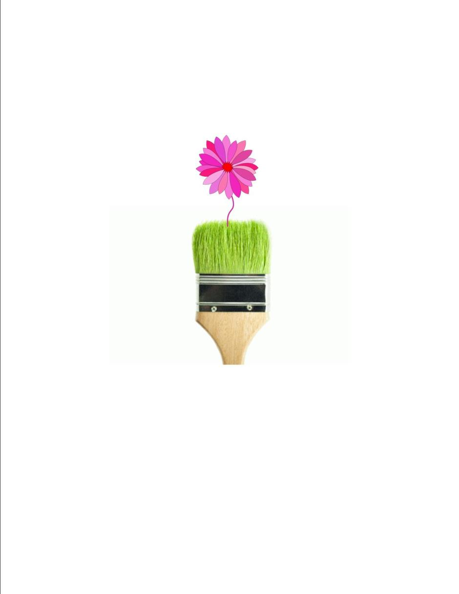 Blooming brush