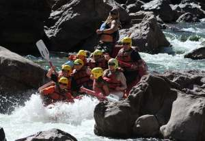 Whitewater rescue